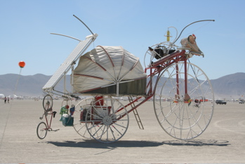 Burning Man is a mecca for artists.